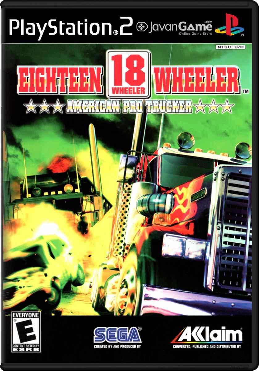 بازی 18 Wheeler - American Pro Trucker برای PS2