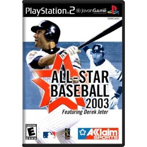 بازی All-Star Baseball 2003 featuring Derek Jeter برای PS2