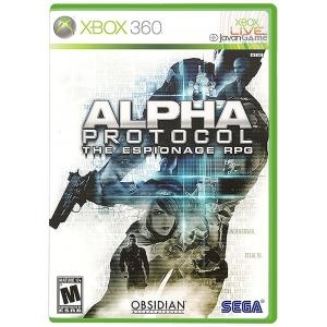 بازی Alpha Protocol برای XBOX 360