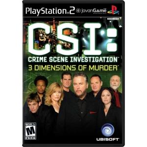 بازی CSI - Crime Scene Investigation - 3 Dimensions of Murder برای PS2
