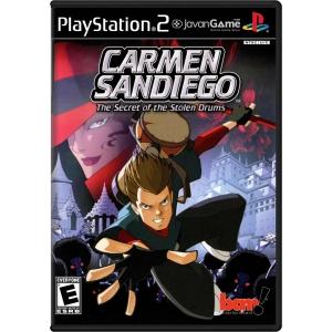بازی Carmen Sandiego - The Secret of the Stolen Drums برای PS2
