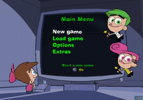 بازی Fairly OddParents! Breakin' Da Rules, The برای PS2