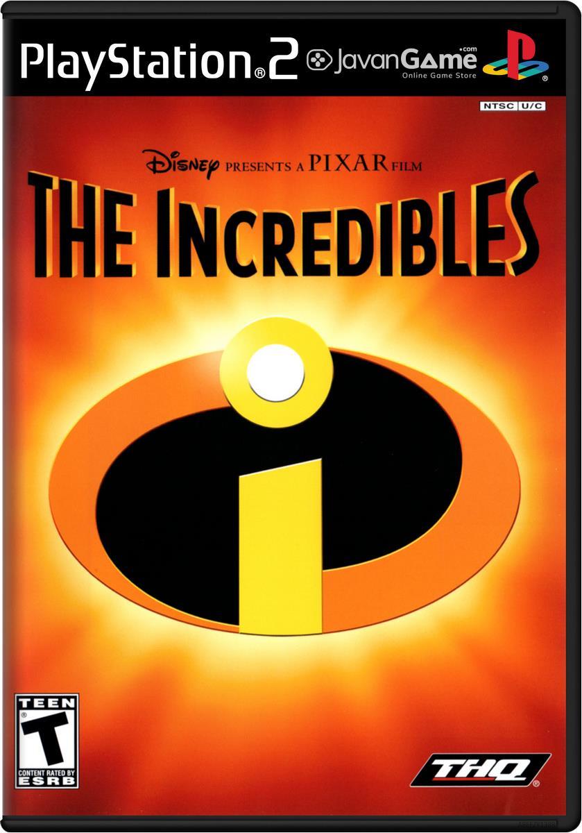 بازی Disney-Pixar The Incredibles برای PS2