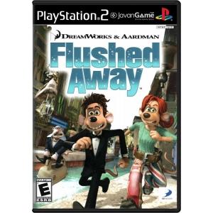 بازی DreamWorks & Aardman Flushed Away برای PS2
