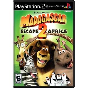 بازی DreamWorks Madagascar - Escape 2 Africa برای PS2