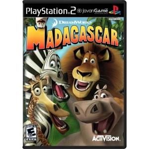 بازی DreamWorks Madagascar برای PS2
