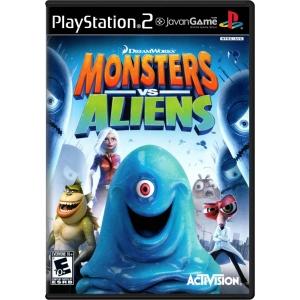 بازی DreamWorks Monsters vs. Aliens برای PS2
