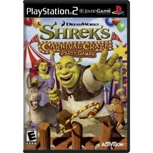 بازی DreamWorks Shrek's Carnival Craze - Party Games برای PS2