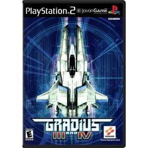بازی Gradius III and IV برای PS2