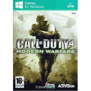 بازی Call of Duty 4 Modern Warfare برای PC