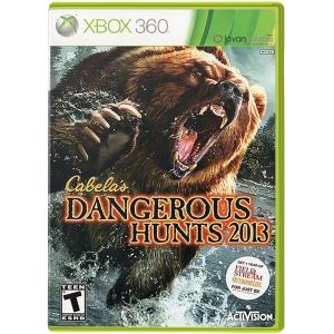 بازی Cabela's Dangerous Hunts 2013 برای XBOX 360
