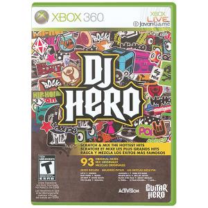 بازی DJ Hero برای XBOX 360