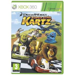 بازی DreamWorks Super Star Kartz برای XBOX 360
