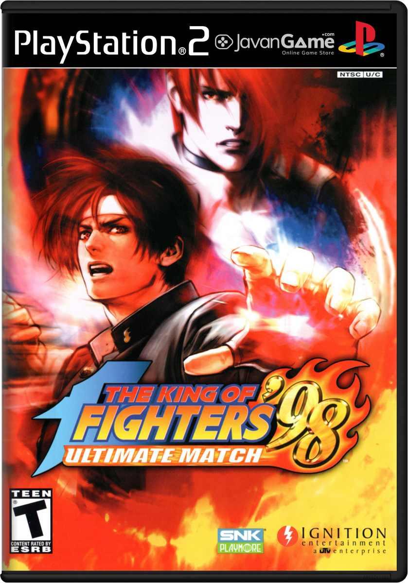 بازی King of Fighters '98 Ultimate Match The برای PS2