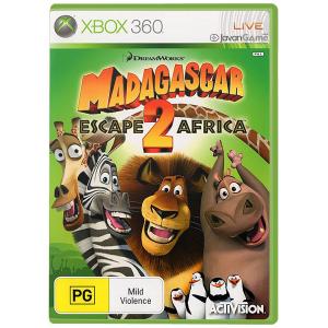 بازی Madagascar 2 برای XBOX 360