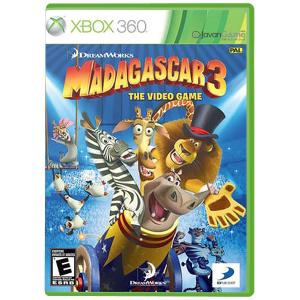 بازی Madagascar 3 برای XBOX 360