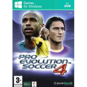 بازی Pro Evolution Soccer 4 برای PC