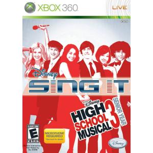 بازی Disney Sing It High School Musical 3 برای XBOX 360