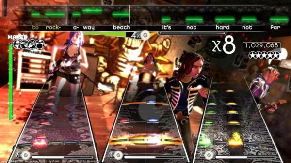 بازی Rock Band برای XBOX 360