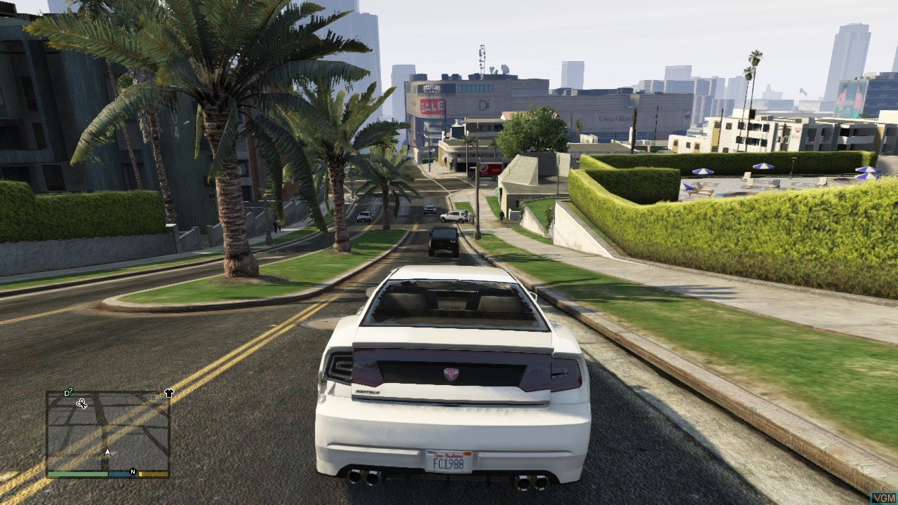 بازی Grand Theft Auto V برای XBOX 360