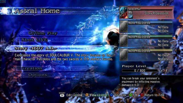 بازی SoulCalibur 5 برای XBOX 360