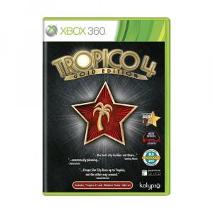 بازی Tropico 4 Gold Edition برای XBOX 360