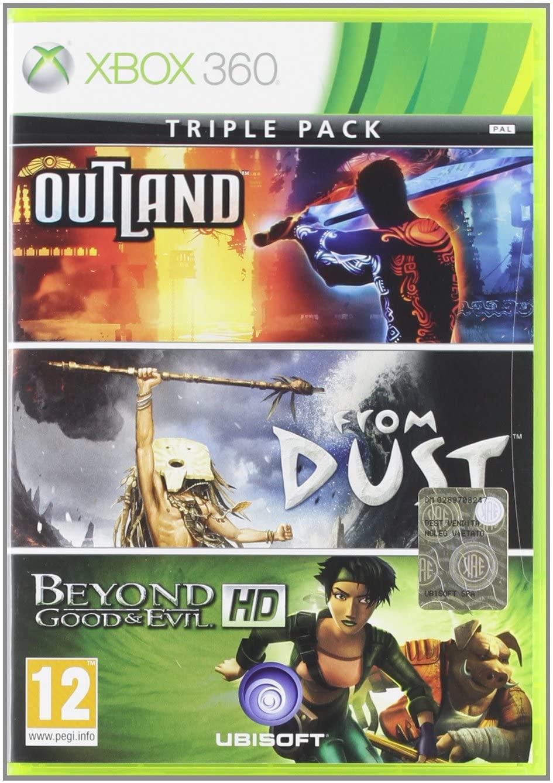 بازی Ubisoft Triple Pack برای XBOX 360