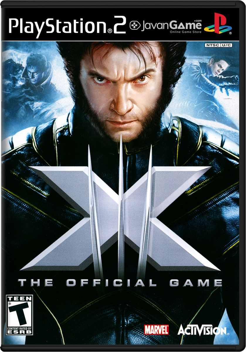 بازی X-Men - The Official Game برای PS2
