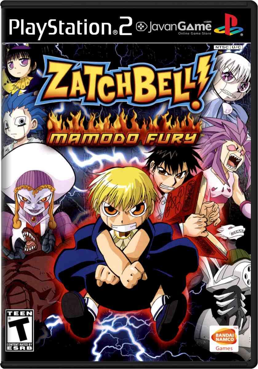 بازی Zatch Bell! Mamodo Fury برای PS2