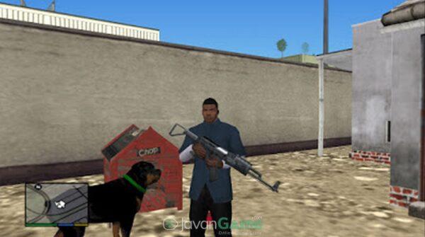 بازی Grand Theft Auto V برای PS2