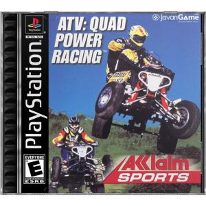 بازی ATV Quad Power Racing برای PS1