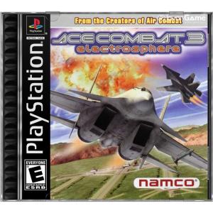 بازی Ace Combat 3 Electrosphere برای PS1