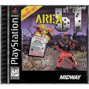 بازی Area 51 برای PS1
