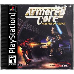 بازی Armored Core Master of Arena برای PS1