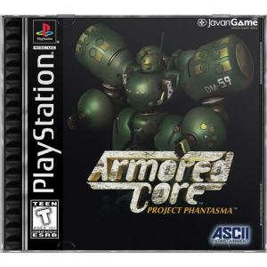 بازی Armored Core Project Phantasma برای PS1