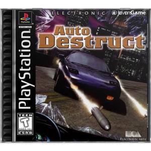 بازی Auto Destruct برای PS1