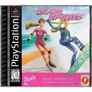 بازی Barbie Super Sports برای PS1
