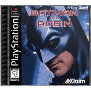 بازی Batman & Robin برای PS1