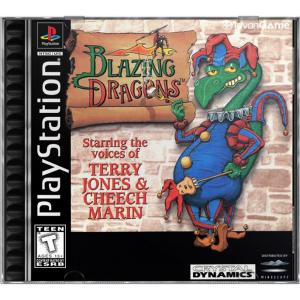 بازی Blazing Dragons برای PS1