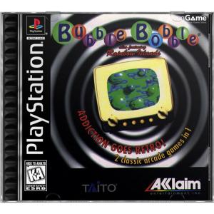 بازی Bubble Bobble Also Featuring Rainbow Islands برای PS1