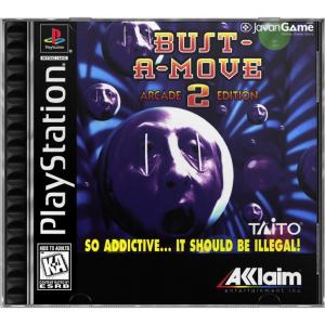 بازی Bust-A-Move 2 Arcade Edition برای PS1