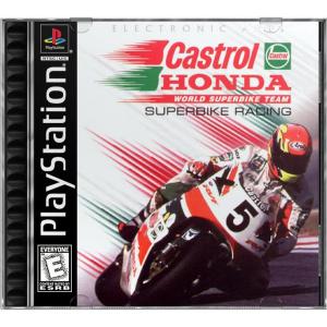 بازی Castrol Honda Superbike Racing برای PS1