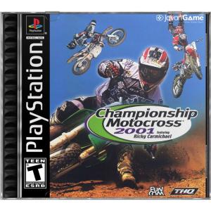 بازی Championship Motocross 2001 Featuring Ricky Carmichael برای PS1