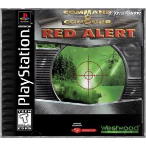 بازی Command & Conquer Red Alert برای PS1