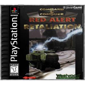 بازی Command & Conquer Red Alert Retaliation برای PS1