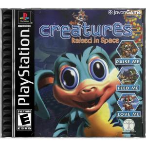 بازی Creatures Raised in Space برای PS1