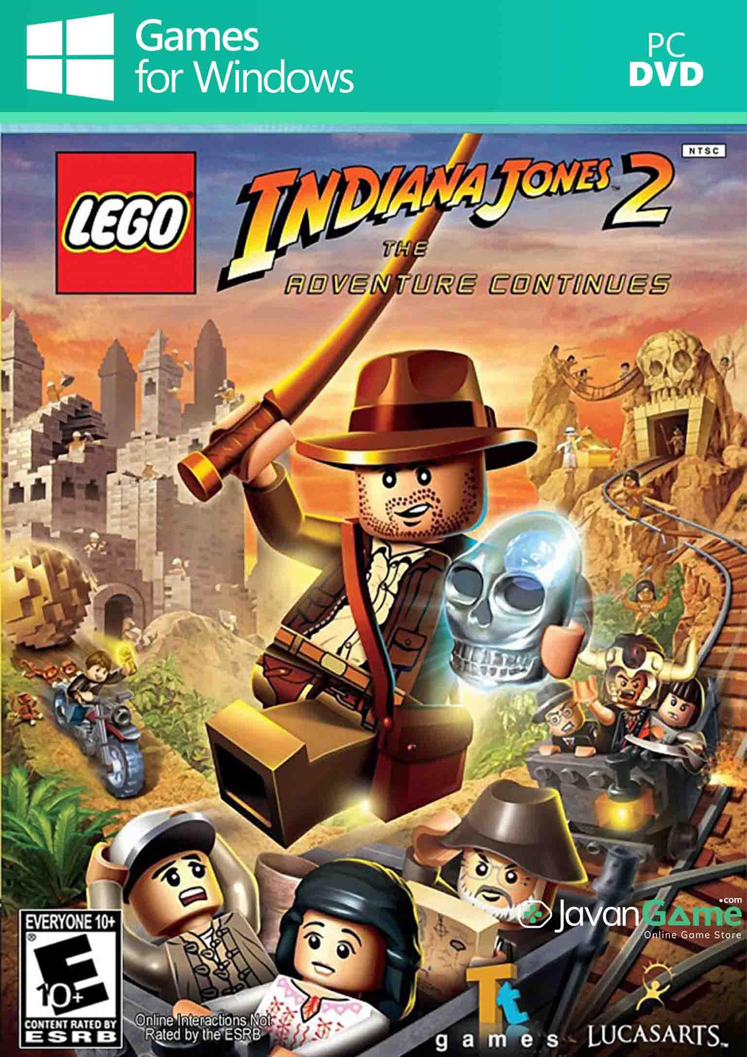 بازی LEGO Indiana Jones 2 The Adventure Continues برای PC