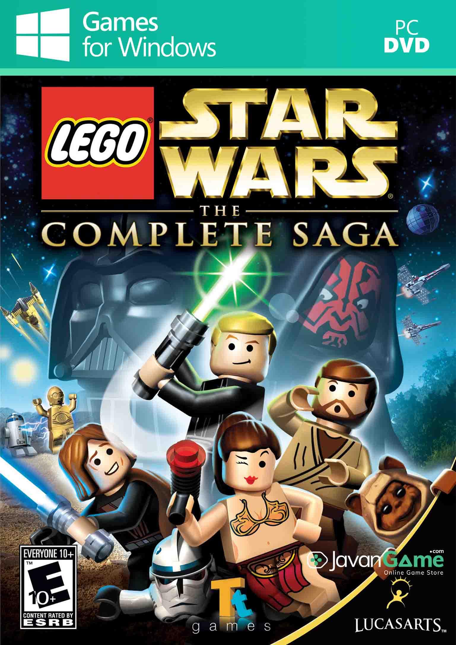 بازی LEGO Star Wars The Complete Saga برای PC