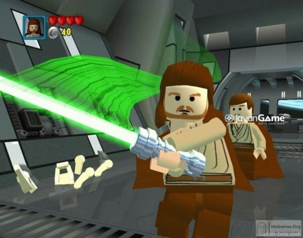 بازی LEGO Star Wars The Video Game برای PC