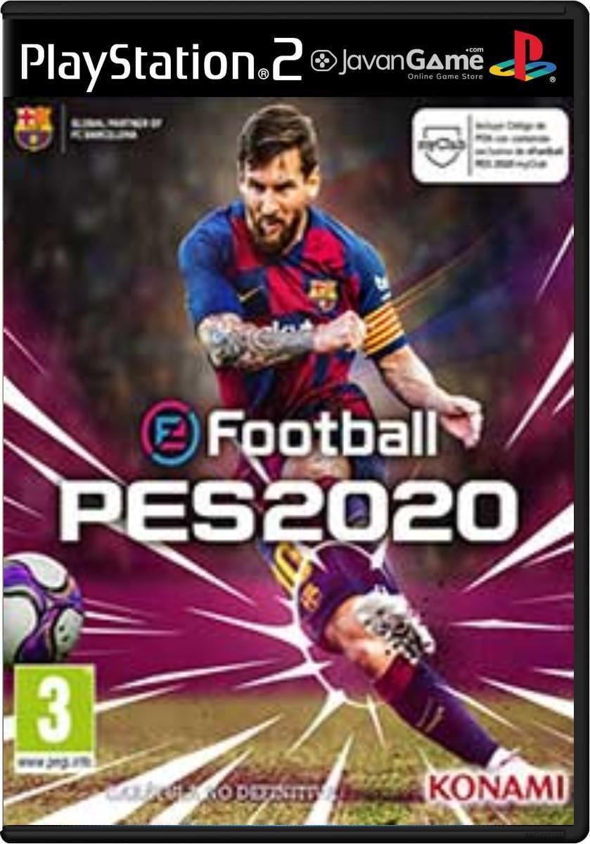 بازی PES 20 برای PS2